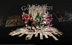 2011 NBA Playoffs - Game Of Thrones Widescreen