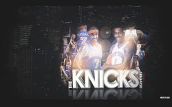 Amare Stoudemire and Carmelo Anthony Knicks Widescreen