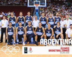 Argentina Basketball Olympic Team 2008