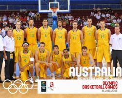 Australia Basketball Olympic Team 2008