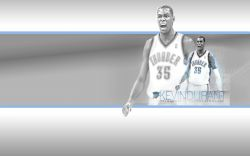 Kevin Durant Thunder Widescreen Wallpaper