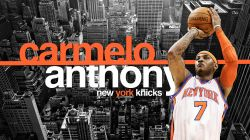 Carmelo Anthony New York Knicks Widescreen