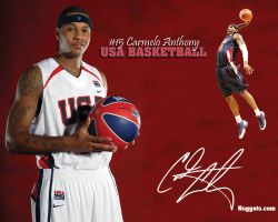 Carmelo Anthony USA Team