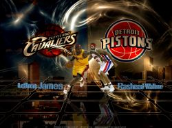 Cavs Pistons 2009 Playoffs