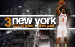 Chris Paul New York Knicks Widescreen