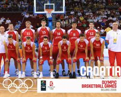 Croatia Basketball Olympic Team 2008