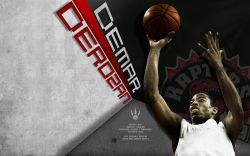 DeMar DeRozan Raptors Widescreen
