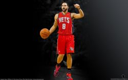 Deron Williams New Jersey Nets Widescreen
