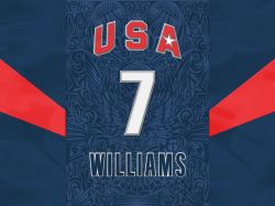 Deron Williams USA Number 7