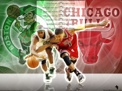Derrick Rose 1st Playoff Game