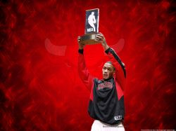 Derrick Rose 2009 Rookie Award
