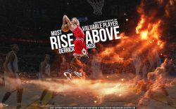 Derrick Rose 2011 MVP Dunk Widescreen
