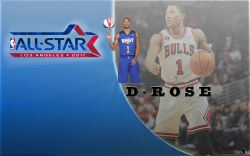 Derrick Rose All-Star 2011 Widescreen