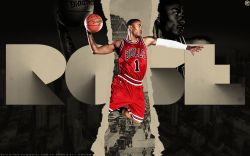 Derrick Rose Bulls Number 1 Widescreen
