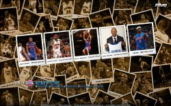 Detroit Pistons Polaroid 2010 Widescreen