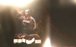 Dwyane Wade Heat Is On Widescreen
