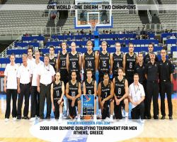 Germany Basketball Olympic Qualifications Team 2008