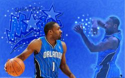 Gilbert Arenas Orlando Magic Widescreen