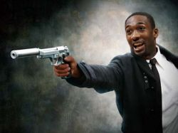 Gilbert Arenas With Gun