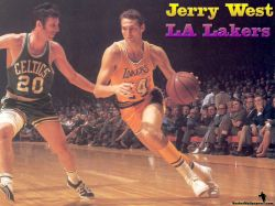 Jerry West LA Lakers