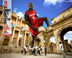 Joel Anthony FIBA World Championship 2010