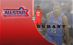 Kevin Durant All-Star 2011 Widescreen