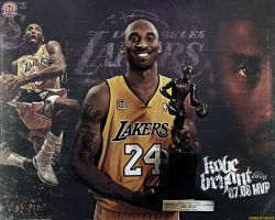 Kobe Bryant 07-08 MVP wallpaper
