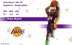 Kobe Bryant Drawn Widescreen