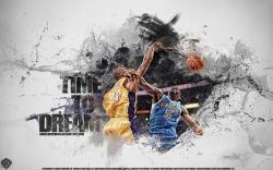 Kobe Bryant Dunk Over Okafor Widescreen