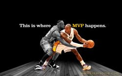 Kobe vs Lebron Widescreen wallpaper
