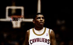 Kyrie Irving Cavs 2011 Draft Pick Widescreen