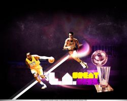 LA Lakers Kobe Bryant - Jerry West