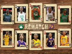 Lakers - Celtics 2010 Finals Rematch