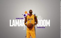 Lamar Odom 2011 6th Man Award Candidate Widescreen