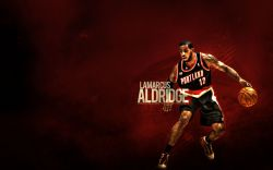 LaMarcus Aldridge TrailBlazers Widescreen