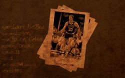 Larry Bird Career Bio