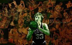 Larry Bird Celtics Legend Widescreen