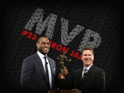 LeBron James 2009 NBA MVP