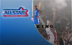 LeBron James All-Star 2011 Widescreen