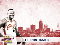 LeBron James Cavs 40