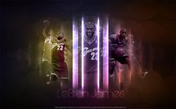 LeBron James Wide Screen