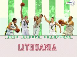 Lithuania Eurobasket 2003 Champions