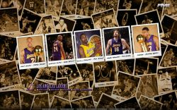 Los Angeles Lakers 2010 Widescreen