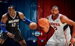 Magic vs Hawks 2011 NBA Playoffs Widescreen