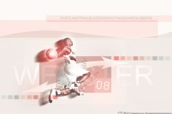 Martell Webster Blazers Widescreen