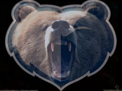 Memphis Grizzlies Animal Logo