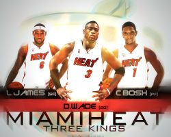 Miami Heat 3 Kings