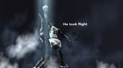 Michael Jordan Playoffs 98 Dunk Over Gill Widescreen