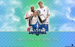 NBA All-Star 2010 Shooting Stars