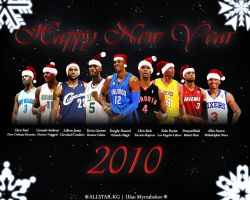 NBA Stars Happy New Year 2010